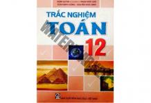 Sách trắc nghiệm Toán 12 Đoàn Quỳnh luyện thi THPT Quốc gia 2017