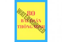 80 bài toán thông minh