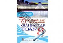 Trọng tâm kiến thức và phương pháp giải bài tập toán 8 tập 1