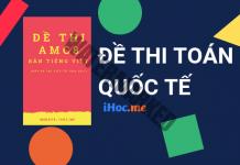 Đề thi Toán học Hoa Kỳ (AMC8) từ 2010 đến 2017 bản tiếng Việt, đáp án chi tiết
