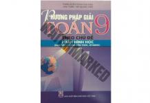Phương pháp giải Toán 9 theo chủ đề Hình học